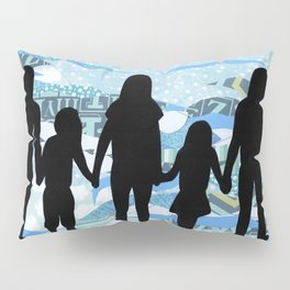 Lake Silhouettes Pillow Sham
