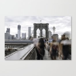 BKLYN bridge Canvas Print