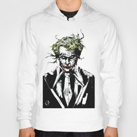 joker Hoodies featuring Joker. by CJ Draden