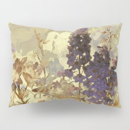 floral on beige Pillow Sham