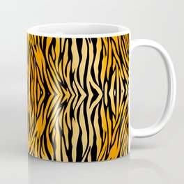 Tiger Stripes Pattern Coffee Mug