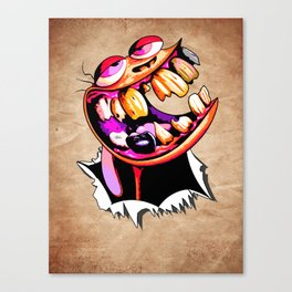 Help me Stiiiimpy. Canvas Print