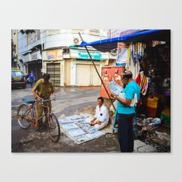 News in Mumbai Canvas Print
