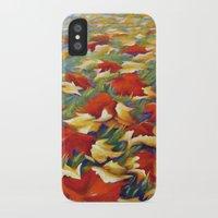 Luxury of Fall iPhone X Slim Case