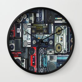 boomboxs Wall Clock