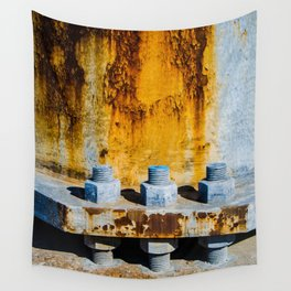 Rust Bolts Texture Wall Tapestry