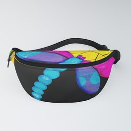 Find Your Way - paper pieced dragonfly Fanny Pack