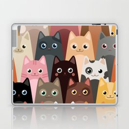 Cats Pattern Laptop & iPad Skin
