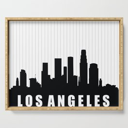 Los Angeles Skyline Serving Tray