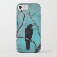 aqua iPhone & iPod Cases featuring Aqua by The Strange Days Of Gothicrow