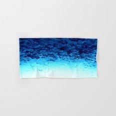 Blue Crystal Ombre Hand & Bath Towel