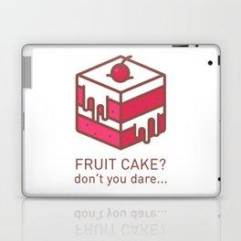 Fruitcake Sweaters Funny Lame Christmas Gift Meme Laptop & iPad Skin