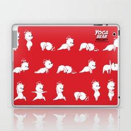 Yoga Bear - Polar Bear Laptop & iPad Skin