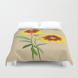 Tickseed Botanical Duvet Cover