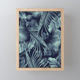 Tropical Jungle Leaves Dream #9 #tropical #decor #art #society6 Framed Mini Art Print