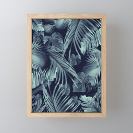 Tropical Jungle Leaves Dream #9 #tropical #decor #art #society6 Framed Mini Art Print