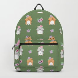 Hamster and Flower Backpack