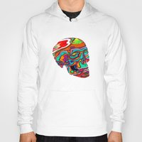lsd Hoodies featuring LSD Skull by johannesart