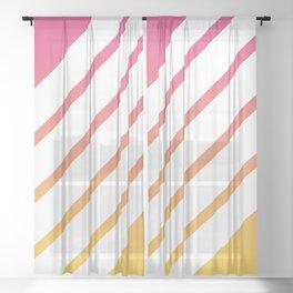 Lightning Sheer Curtain