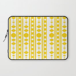 Tribal pattern Yellow Laptop Sleeve