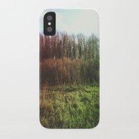 hiking iPhone & iPod Cases featuring Hiking Rainbow by Sabrina Elewa