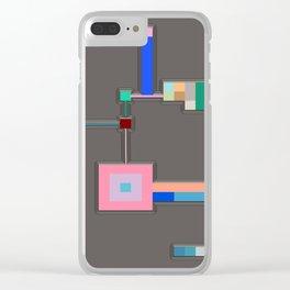 Anachronism Mechanism Clear iPhone Case
