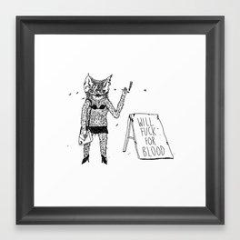 Prostibat Framed Art Print