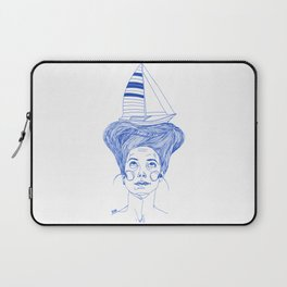 Hairsea blue Laptop Sleeve