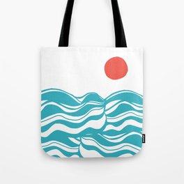 Swell, ocean waves Tote Bag