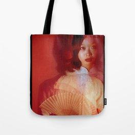 Beyond red Tote Bag