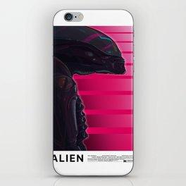 Neon ALIEN iPhone Skin