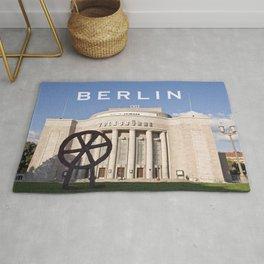 EAST BERLIN THEATRE - VOLKSBUEHNE Rug