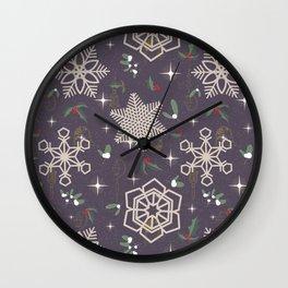 Xmas In The City Wall Clock