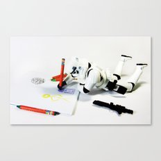 Drawing Droids Canvas Print