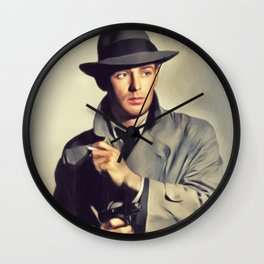 Alan Ladd, Actor Wall Clock