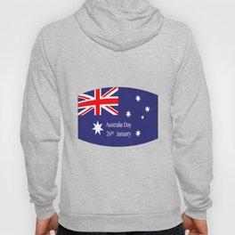 Australia Day Flag Hoody