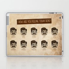 Ron Swanson 5 Laptop & iPad Skin