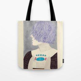 Wet Hair Tote Bag