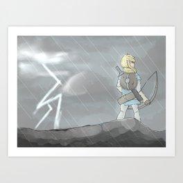 Symphony of Storms Art Print