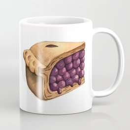 Blueberry Pie Slice Coffee Mug