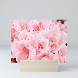 Pink Azalea Flower Dream #2 #floral #decor #art #society6 Mini Art Print