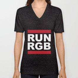 Run RGB Unisex V-Neck