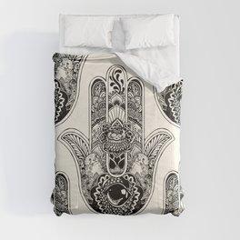 Hamsa Hand Otter Comforters
