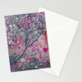 Pink nature Stationery Cards