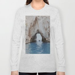 capri, italy ii Long Sleeve T-shirt