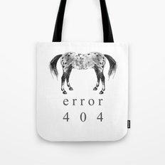 ERROR 404 Tote Bag