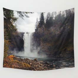 Snoqualmie Falls, WA Wall Tapestry