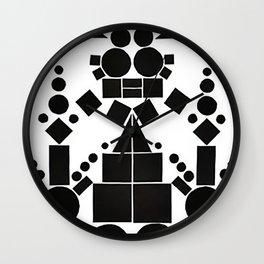 temples of flight I Wall Clock