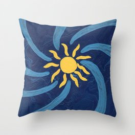 Center of the Galaxy Throw Pillow