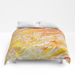Summer Abstract #3 Comforters